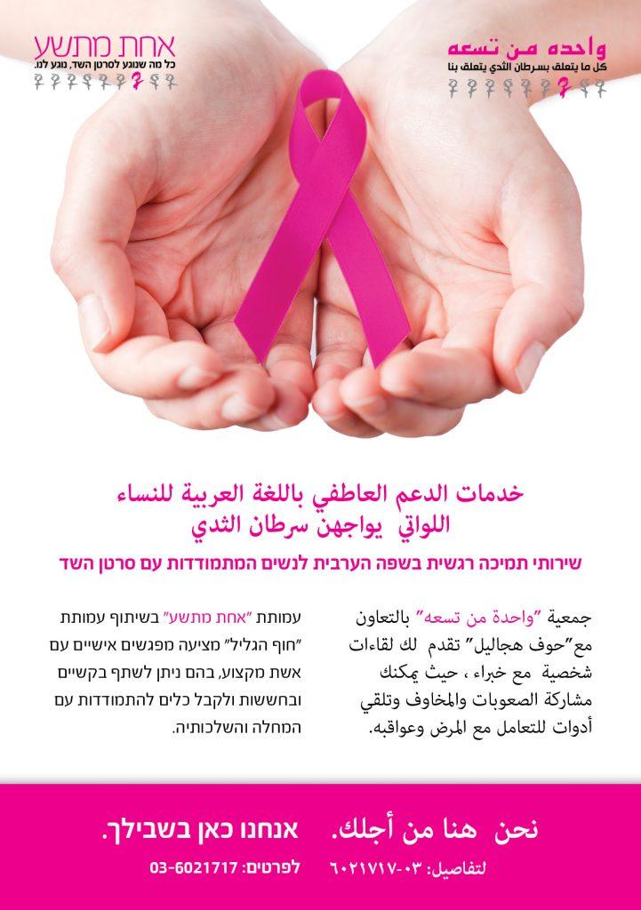 שירותי תמיכה רגשית בערבית